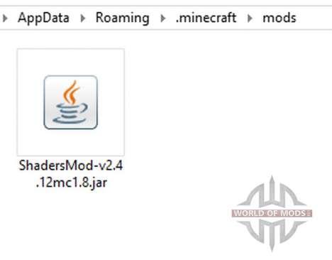 ShadersMod v2.4 [1.8] für Minecraft