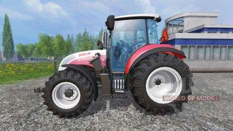 Steyr Multi 4115 [hardpoint] pour Farming Simulator 2015