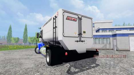 Kenworth T800 [feed truck] für Farming Simulator 2015