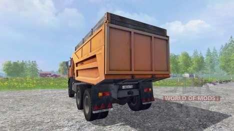 KamAZ-55111 v1.0 pour Farming Simulator 2015