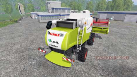 CLAAS Lexion 550 v2.0 für Farming Simulator 2015
