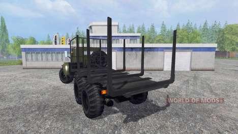 KrAZ-255 B1 [bois] pour Farming Simulator 2015