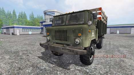 GAZ-66 v1.0 pour Farming Simulator 2015