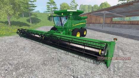John Deere S 690i [washable] für Farming Simulator 2015