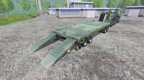Oshkosh M1070 HET pour Farming Simulator 2015