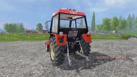 Zetor 7211 v1.0 pour Farming Simulator 2015