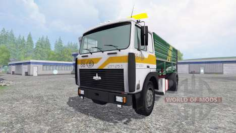MAZ-5516 [camion silo] pour Farming Simulator 2015