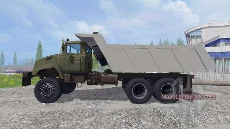 Le KrAZ B18.1 v2.0 pour Farming Simulator 2015