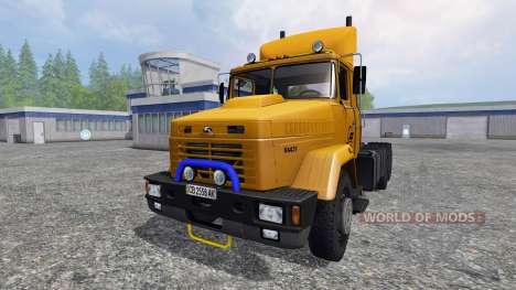 KrAZ-64431 v2.0 pour Farming Simulator 2015