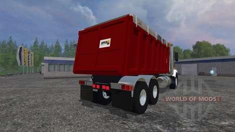 Kenworth T800 [dump] für Farming Simulator 2015