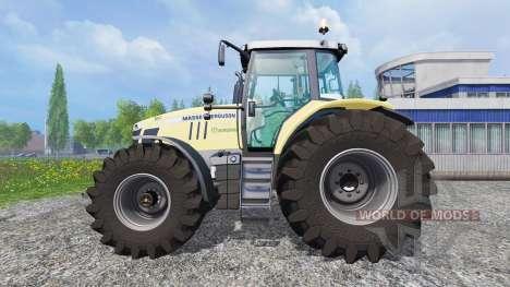 Massey Ferguson 7726 [Krone] pour Farming Simulator 2015
