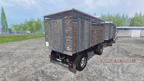IFA W50 [Tier, Verkehr] für Farming Simulator 2015