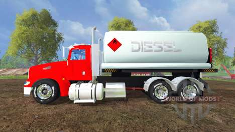 Peterbilt 384 [tanks] für Farming Simulator 2015
