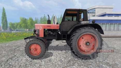 MTZ-80 [rouge] pour Farming Simulator 2015
