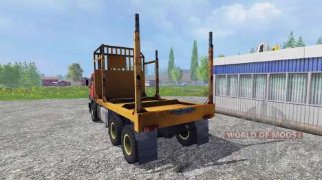 KamAZ 55102 [Forestier] pour Farming Simulator 2015