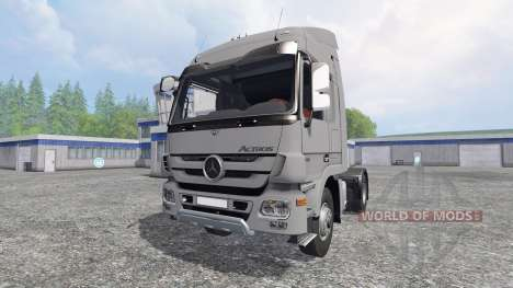 Mercedes-Benz Actros MP3 v0.8b pour Farming Simulator 2015