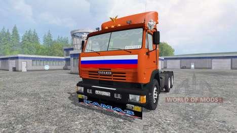KamAZ-54115 [rot] für Farming Simulator 2015