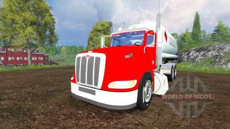 Peterbilt 384 [tanks] pour Farming Simulator 2015