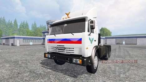 KamAZ 54115 v1.1 pour Farming Simulator 2015