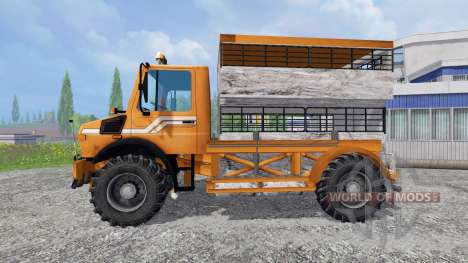 Mercedes-Benz Unimog [spezial vieh] für Farming Simulator 2015
