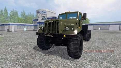 KRAZ-255 B1 für Farming Simulator 2015
