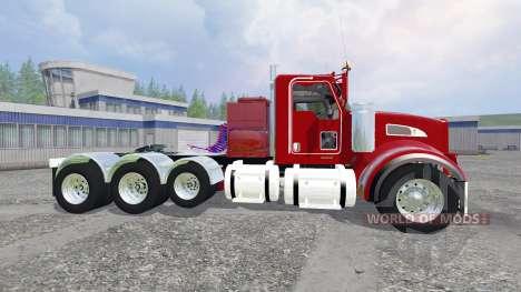 Kenworth T440 v5.0 pour Farming Simulator 2015