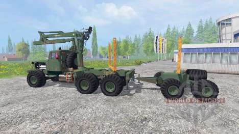 KrAZ-255 B1 [Holz] v2.5 für Farming Simulator 2015