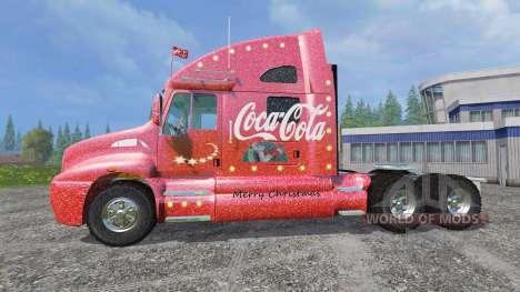 Kenworth T2000 [Coca-Cola Christmas] v1.1 pour Farming Simulator 2015