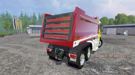 MAN TGS 18.440 [dump] pour Farming Simulator 2015