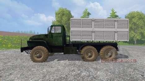 Ural-4320 [GKB-817] v1.2 pour Farming Simulator 2015