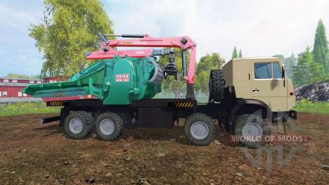 KamAZ-6350 [JENZ] für Farming Simulator 2015