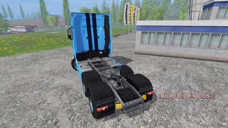 Mercedes-Benz Actros MP4 v1.1 pour Farming Simulator 2015