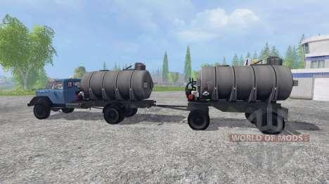 Magirus-Deutz 200D26 1964 [tanker] pour Farming Simulator 2015