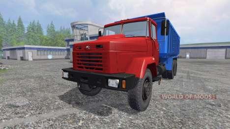 KrAZ-6130 C4 v1.2 pour Farming Simulator 2015