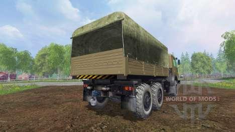 KamAZ-43114 v1.3 pour Farming Simulator 2015