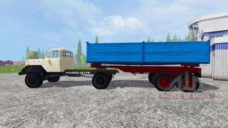 Magirus-Deutz 200D26 1964 [tractors] pour Farming Simulator 2015