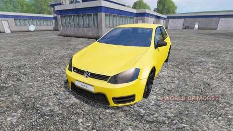 Volkswagen Golf VII v1.3 für Farming Simulator 2015