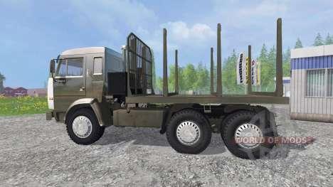 KamAZ-54115 [LKW] v1.3 für Farming Simulator 2015