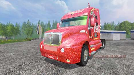 Kenworth T2000 [Coca-Cola Christmas] v1.1 für Farming Simulator 2015