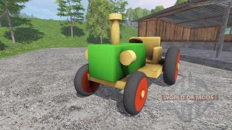 Holz-Traktor für Farming Simulator 2015