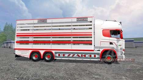 Scania R730 [cattle] v1.4 für Farming Simulator 2015