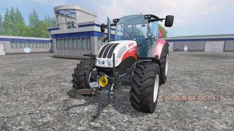 Steyr Multi 4115 [hardpoint] v2.0 pour Farming Simulator 2015