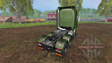 Scania R730 [euro farm] v0.9.6 für Farming Simulator 2015