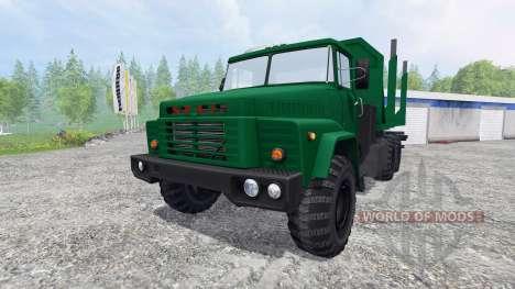 KrAZ-260 [bois] pour Farming Simulator 2015
