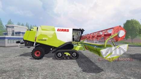 CLAAS Lexion 670TT für Farming Simulator 2015