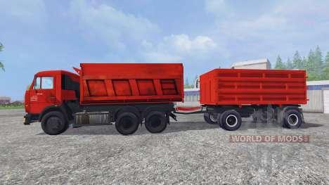 Die KamAZ-65115 [Nefas 8560] für Farming Simulator 2015