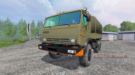 KamAZ-43114 pour Farming Simulator 2015