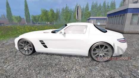 Mercedes-Benz SLS AMG für Farming Simulator 2015