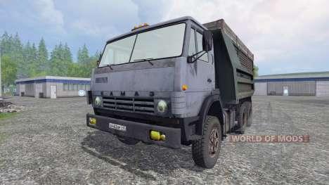 KamAZ-55111 v4.1 für Farming Simulator 2015