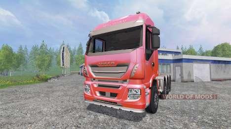 Iveco Stralis 560 8x4 v1.5 für Farming Simulator 2015